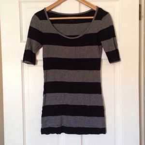Express Cotton Striped Top